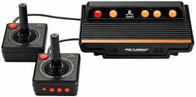 Atari Flashback 9 AR3050 Game Consoles with Wired Joystick Controllers