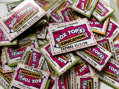 50 Boxtops For Education BTFE Box Tops Neatly Pre Trimmed None Expired