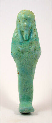 Egypt Late period to ptolemaic period 30th Dynasty faience ushabti