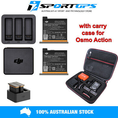 DJI OSMO ACTION Charging Kit + Charging Hub |2 Batteries |Carry Case Aus Stock