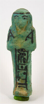 Egypt TIP 21/22th Dynasty blue faience shabti of Pa-Di-Khonsu