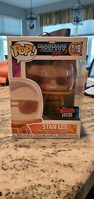 Stan Lee GOTG 2 Funko Pop! Marvel NYCC SHARED Exclusive Pre Order SOLD OUT