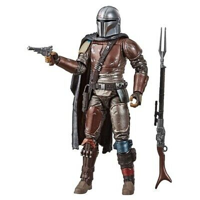 "**NEW** Star Wars The Black Series 6"" Carbonized Collection The Mandalorian 2019"