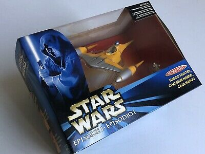 Star Wars Action Fleet Naboo Starfighter Hasbro Galoob Anakin 1:72