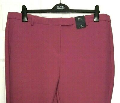 Marks /& Spencer da donna gon na rosa velluto a coste Pantaloni Nuove M/&S BELLE Cord Jeans