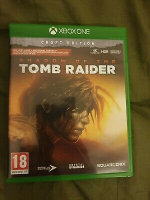 Shadow of the Tomb Raider Xbox One (Croft Edition) New Other Read Below