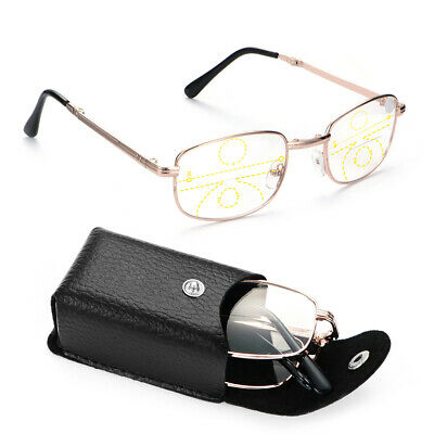 de lunettes Lentille multifocale progressive Old Blossom eyes Metal Reader