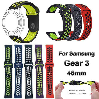 bande de silicone bracelet 22 mm bracelet For Samsung Galaxy Watch 46mm Gear S3