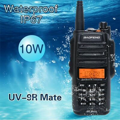 Baofeng UV-9R Mate 10W VHF UHF Walkie Talkie Dual Band Handheld Two Way Radio US