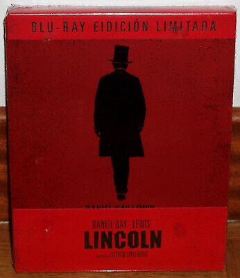 Lincoln Blu-Ray Steelbook Edition Limitée Neuf Notice Biographique Drama ( ( )