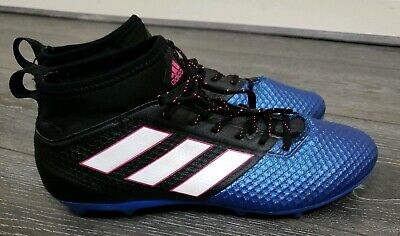 VGC Mens Adidas 17.3 firm ground football studs sock boots size 8 fit 7.5 7