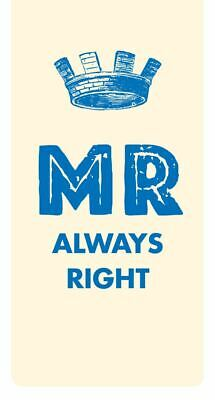 Magnetic Bookmarks - Mr Always Right