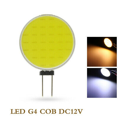 / 5 / 7w cool / blanc chaud super brillant une ampoule feu de dc12v g4 cob led