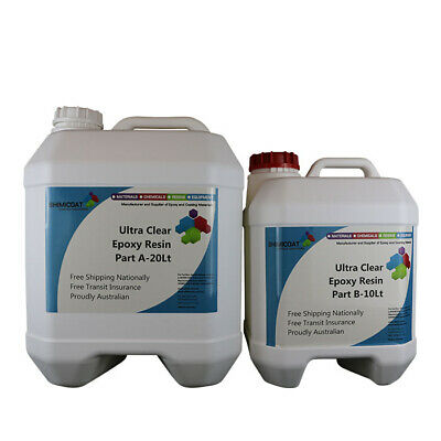 SlipRes Ultra Clear Epoxy Resin 2A:1B, Easy DIY KIT, Indoor & Outdoor QUALITY