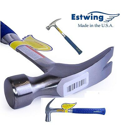 Estwing Straight Claw Hammer Shock Reduction Grip E3/22S - E3/30S Choose Size