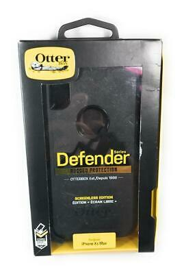 OtterBox Defender Series Rugged Protection Case, For iPhone Xs Max, Black