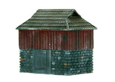 SMALL YARD OFFICE Tin Shed 42x32mm HO 1//87 scale plastic kit Pikestuff 541-0005