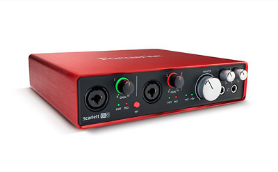 Focusrite Scarlett 6i6 2nd Gen Audio Interface includes Ableton Live Lite