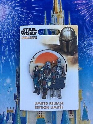 Disney Parks Star Wars The Mandalorian Pin LE In Hand