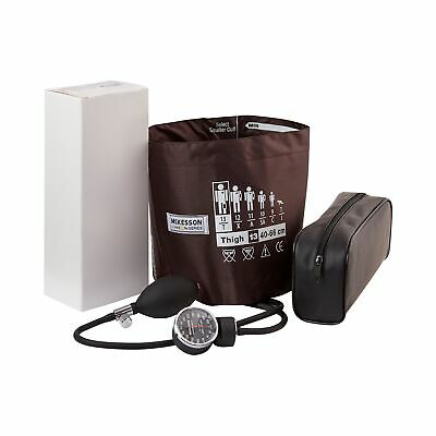 McKesson Lg. Thigh Aneroid Sphygmomanometer with Cuff 01-720-13TBRGM 12/Case