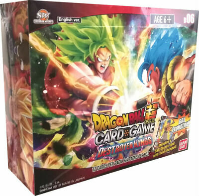 Dragon Ball Super Card Game TCG Destroyer Kings Booster Box *Factory Sealed*