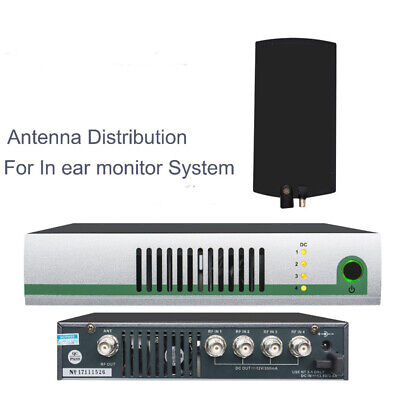 UHF 500-950Mhz AC 3 Active Antenna Combiner for Sennheiser in ear monitor system