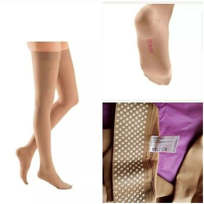 Mediven Plus Beige Medical Compression Stockings Closed Toe CCL 2 size ll 2 S