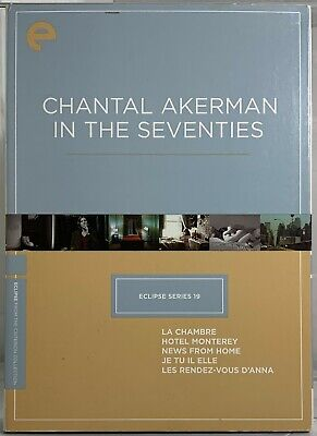 Criterion Eclipse Series #19: Chantal Akerman in the Seventies (DVD, 3-Discs)