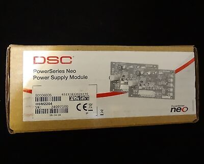 DSC HSM2204 PowerSeries Neo Power Supply Module High Current Output Security