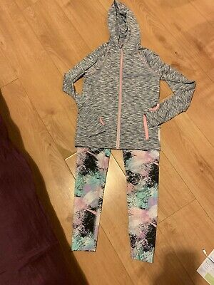 Girls Sport Tracksuit Age 10-11 Years