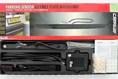 Carpoint Parking Reversing Licence-Plate Mounted Ultrasonic Sensor Strip
