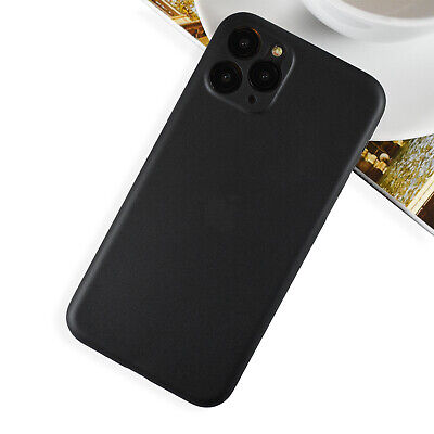 Ultra Thin [0.1mm] iPhone 11, 11 Pro & Pro Max Case   Slim Matte Hard Protection