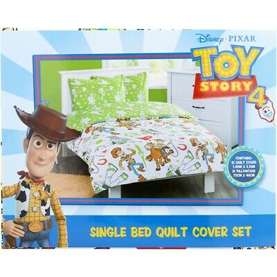 Disney Toy Story Quilt Cover Set - White