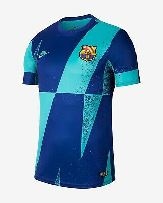 NIKE FC BARCELONA SQUAD UEFA CHAMPIONS LEAGUE TRAINING TOP