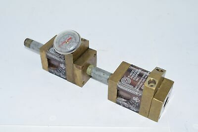 Plastic Process Equipment Pressure Manifold Gauge SMARTFLOW 150 PSI
