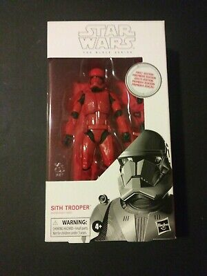 """Star Wars Black Series 6"""" Sith Trooper First Edition"""