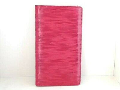 Pre-owned Louis Vuitton Notebook Cover Epi R20527 PINK From Japan f7nz63y70
