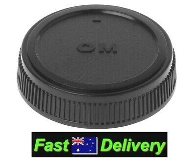 Rear Lens Cap for OLYMPUS Zuiko Four Thirds 14-42mm and 40-150mm Lenses.