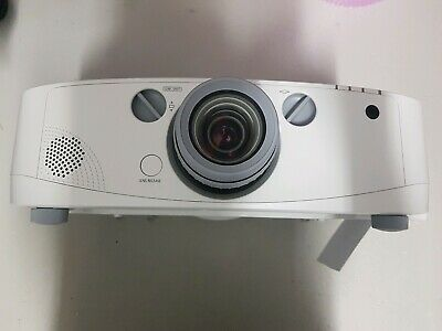 NEC NP-PA500X 3LCD XGA Projector 5000 Lumens  W/ Remote Tested