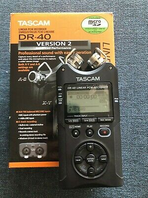 Tascam DR-40 Portable Field Recorder