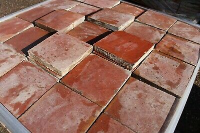 Reclaimed Red Quarry Tile 8x8 (readysteady)