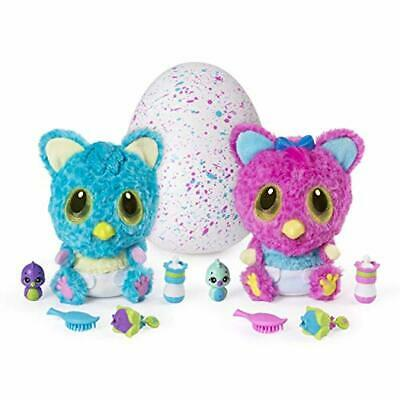 Hatchimals HatchiBabies Cheetree Hatching Egg with Interactive Pet Baby Kid Gift
