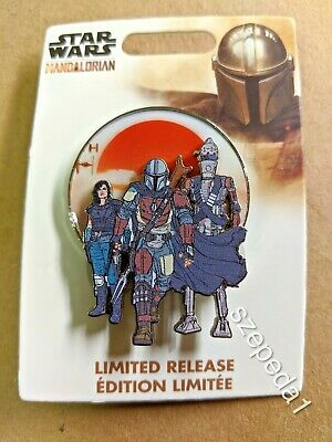 The Mandalorian 2019 Star Wars Disney Parks Limited Release Pin