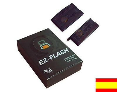 EZ4 - Official, Boxed, New double case. EZ FLASH IV 4 OMEGA GameBoy NDS ¡NUEVO!