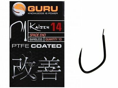 MIKADO /'/'CHINTA/'/'10 FISHING HI-CARBON SNELLED.BARBED HOOKS GOLD COLOUR,SIZE 10.