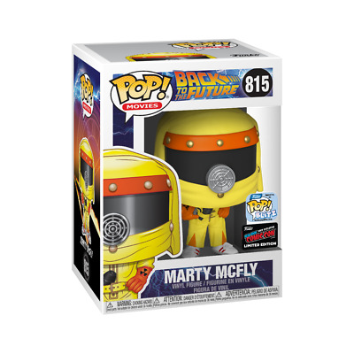 Funko POP Movies Marty Mcfly Back To Future NYCC 2019 Sticker Limited