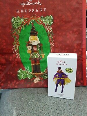 Hallmark keepsake ornaments 2019 sold out Batgirl cames with collector's Bag