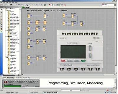 PLC Programmable Logic Software Professional Automation Virtual Controller on PC