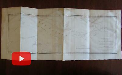 New Guinea Hawkesworth 1773 Capt. Cook early detailed map Oceania New Britain