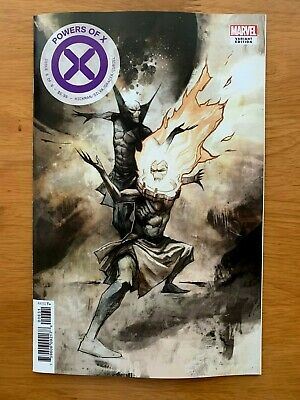 POWERS OF X #6 Mike Huddleston 1:10 Incentive Variant Marvel 2019 NM+